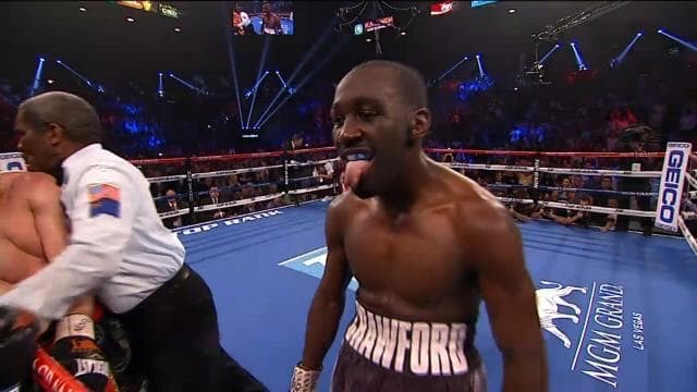 Terrence Crawford Announces Himself At147lbs